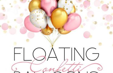 Floating Confetti Balloons